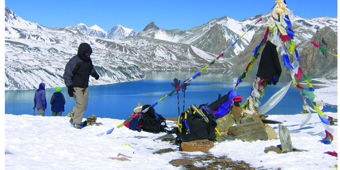 Mountain Base Camp Nepal
