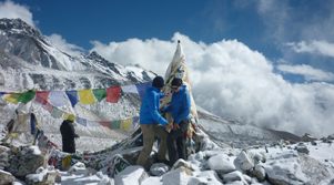Mountain trekking nepal