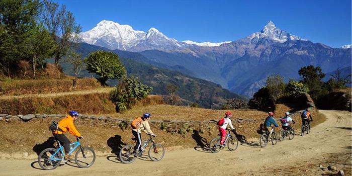 trekking pokhara nepal