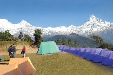 Trekking style camp