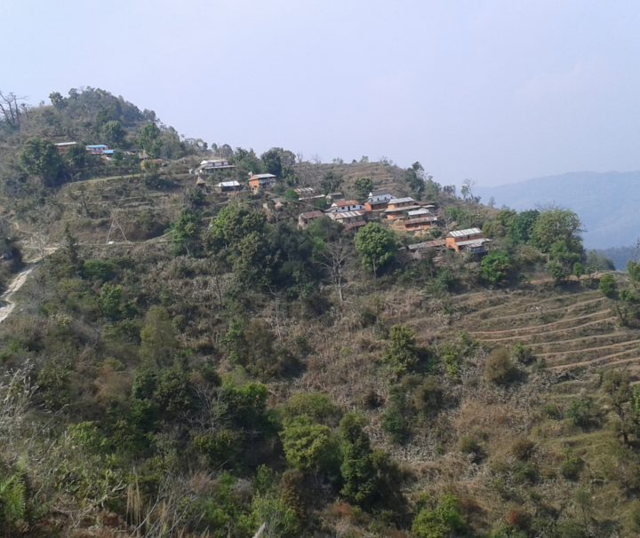 Hilly region of nepal
